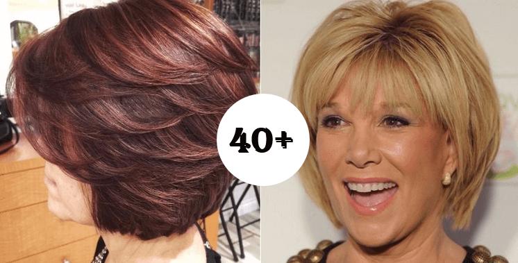 028ae45a9 Většina žen po 40 má řídké vlasy bez objemu: Toto je 20 trendy účesů, které  vám uberou roky a vyzvednou vaši přirozenou krásu!