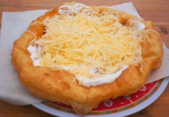 langos recept